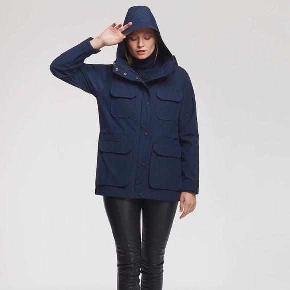 5f9b6f75b Penfield women's KASSON jacket navy large NWT